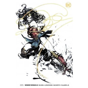 Wonder Woman (2016) #63 VF/NM Karmome Shirahama Variant Cover DC Universe