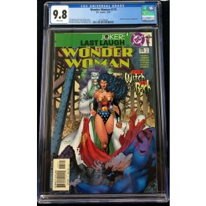 Wonder Woman (1987) #175 CGC 9.8 Joker cover by Jim Lee Last Laugh (2016786005)