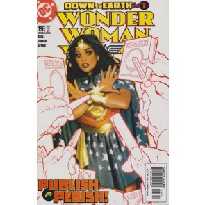 Wonder Woman (1987) #196 VF/NM Adam Hughes Cover Art