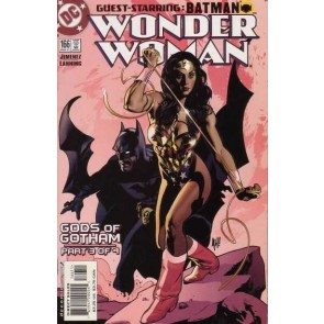 Wonder Woman (1987) #166 VF/NM-NM Adam Hughes Cover Batman Gods of Gotham Part 3