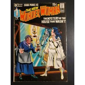 Wonder Woman #195 (1971) F+ (6.5) Last 15 cent Mike Sekowsky, Wally Wood inks|