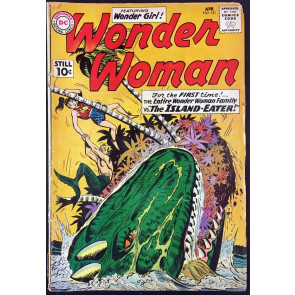 Wonder Woman (1942) #121 GD- (1.8) 1st app Wonder Woman Family