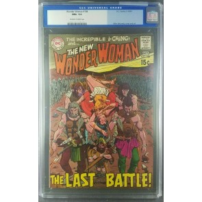 Wonder Woman #184 (1969) CGC 9.6 NM+ Silver Age not Adam Hughes 0067311020|