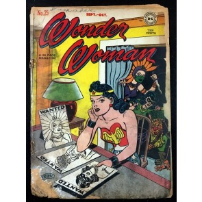 Wonder Woman (1942) #25 PR (.05) Golden Age reader copy