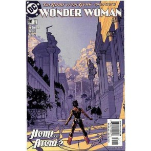 Wonder Woman (1987) #191 VF/NM Adam Hughes Cover Art