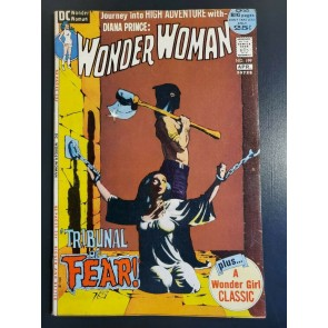WONDER WOMAN #199 (1972) F+ (6.5) CLASSIC JEFF JONES BONDAGE COVER |