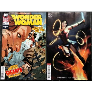 Wonder Woman (2016) #66 VF/NM regular & variant cover set