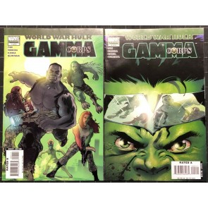World War Hulk Gamma Corps (2007) #1-4 VF/NM complete set