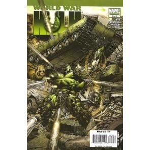 WORLD WAR HULK #3 VF/NM -NM DAVID FINCH COVER