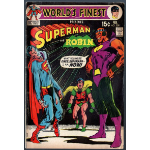 World's Finest (1941) #200 VG- (3.5) Neal Adams cover
