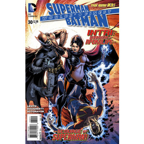 WORLD'S FINEST (2012) #30 VF/NM SUPERMAN BATMAN THE NEW 52!