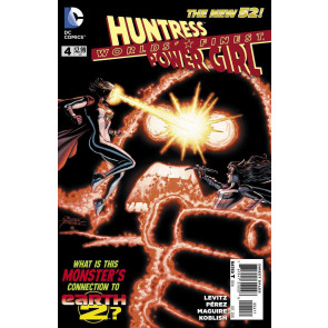 Worlds' Finest (2012) #4 VF- HUNTRESS POWER GIRL THE NEW 52!