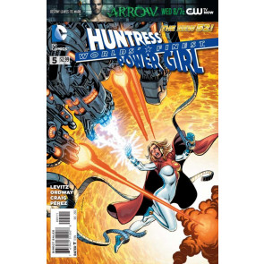 Worlds' Finest (2012) #5 VF- HUNTRESS POWER GIRL THE NEW 52!