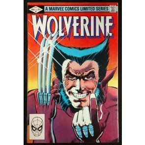 Wolverine Limited Series (1982) 1 2 3 4 VF+-VF/NM Complete Set Frank Miller Art