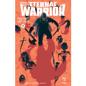 WRATH OF THE ETERNAL WARRIOR (2015) #3 VF/NM COVER B VALIANT COMICS