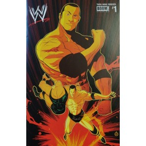 "WWE: Then. Now. Forever. (2018) #1 VF/NM ""The Rock"" Variant Cover Boom! Studios"