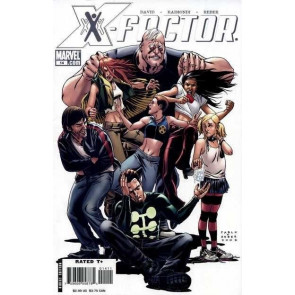 X-FACTOR (2006) #14 VF PETER DAVID