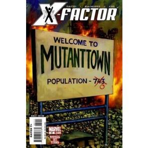 X-FACTOR (2006) #31 VF+ PETER DAVID