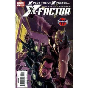 X-FACTOR (2006) #4 FN/VF PETER DAVID