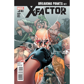 X-FACTOR #241 VF/NM BREAKING POINTS DAY 1