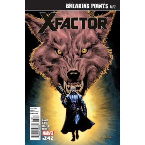 X-FACTOR #242 VF/NM BREAKING POINTS DAY 2