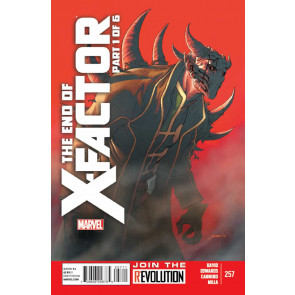 X-FACTOR #257 VF/NM THE END OF X-FACTOR PART 1 OF 6