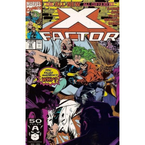 X-FACTOR #72 VF/NM PETER DAVID
