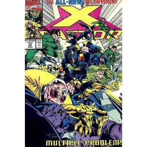 X-FACTOR #73 VF/NM PETER DAVID