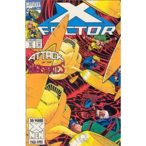 X-FACTOR #91 VF/NM PETER DAVID JOE QUESADA COVER