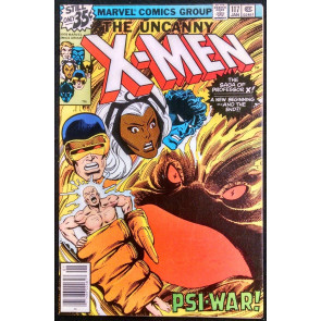 X-MEN #117 VF- JOHN BYRNE