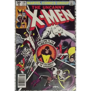 X-MEN #139 VF- KITTY PRYDE JOINS THE X-MEN