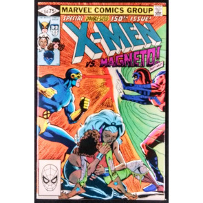 X-MEN #150 FN+ VS MAGNETO