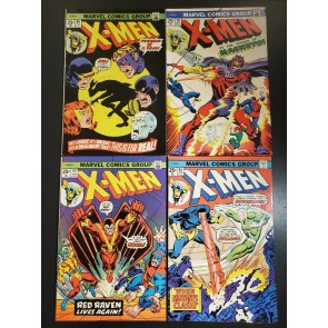X-MEN (1974-1975) LOT OF 4 #90, #91, #92, #93 (1974-1975) HIGHER GRADE 6.0-7.5|