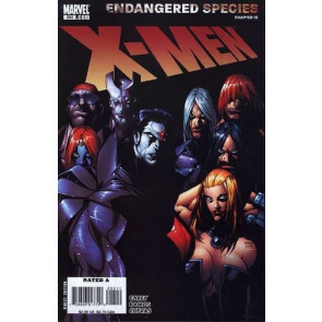 X-MEN #203 VF+ RAMOS ENDANGERED SPECIES CHAPTER 13