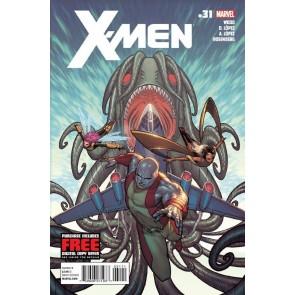 X-MEN #31 NM BRIAN WOOD