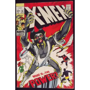 X-MEN #56 FN/VF 1ST HAVOK WITHOUT COSTUME NEAL ADAMS