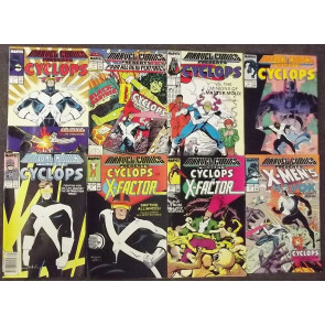 X-MEN CYCLOPS LOT OF 29 ASSORTED BOOKS 6 COMPLETE SETS 1989-2011