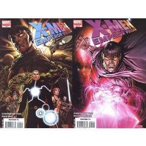 X-MEN: EMPEROR VULCAN #1 & 2 OF 5 VF/NM SET RISE & FALL