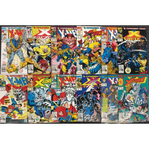 X-Men X-Cutioner's Song complete 12 part set VF+ (8.5) or better