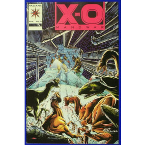 X-O MANOWAR #15 NM- PINK VARIANT COVER