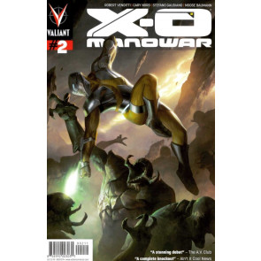 X-O MANOWAR (2012) #2 VF+ COVER A VALIANT