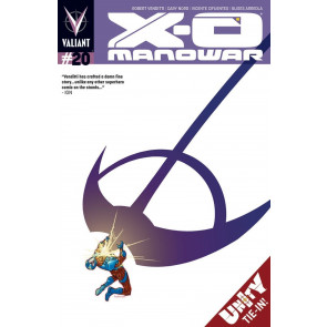 X-O MANOWAR (2012) #20 VF+ - VF/NM COVER A VALIANT