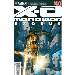 X-O MANOWAR (2012) #40 VF/NM COVER B VARIANT EDITION VALIANT