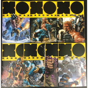X-O (2017) 3 5 6 8 9 11 NM (9.4) lot of 7 comics