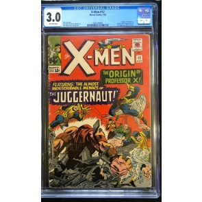 X-Men (1963) #12 CGC 3.0 1st app Juggernaut off-white pages (2005139004)