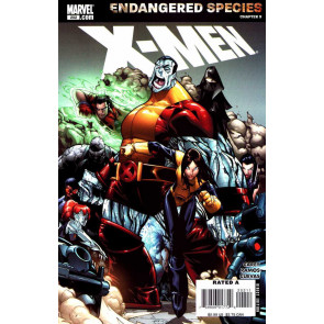 X-men (2004) #202 VF-VF+ Humberto Ramos Endangered Species Chapter 9