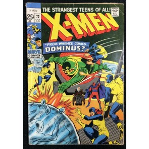 X-Men (1963) #72 VG- (3.5) 52 page giant
