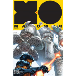 X-O Manowar (2017) #11 VF/NM Lewis LaRosa Cover Valiant