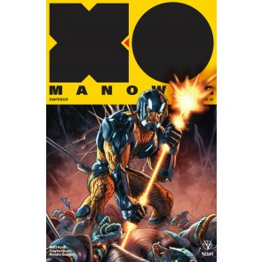 X-O Manowar (2017) #8 VF/NM Lewis LaRosa Cover Valiant