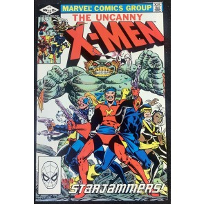 X-Men (1963) #156 NM (9.4) Starjammers Cover